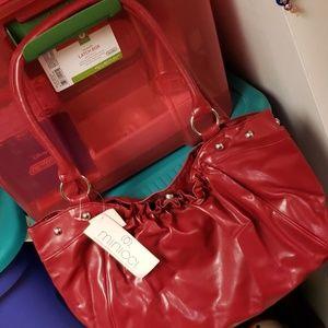Minicci red handbag